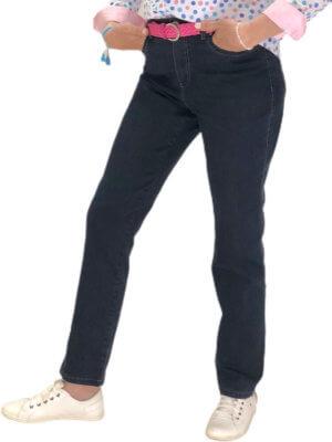 jean confort blue denim - face
