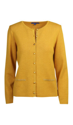 CARDIGAN SUBLIMA OCRE