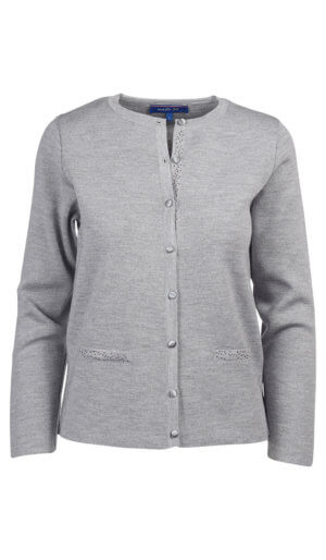 CARDIGAN SUBLIMA INOX